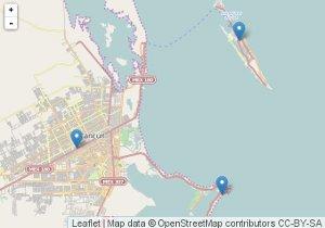 Karte von Cancun