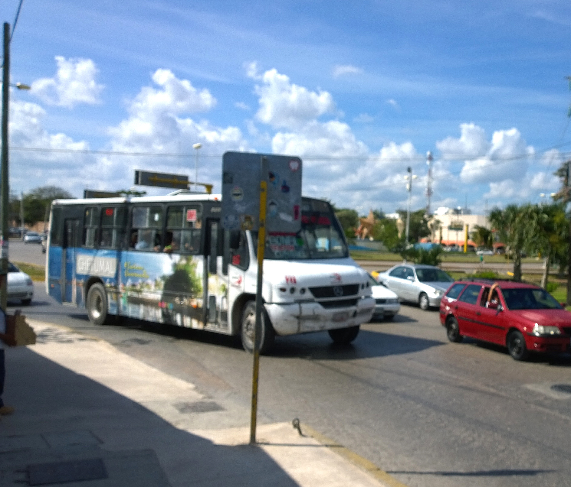 Cancun Bus From Airport To Hotel Zone